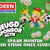 Deen Sponsoractie 2016 : muntjes sparen !!!!!